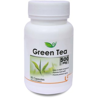 Biotrex Green Tea 500 mg (60 Capsules)