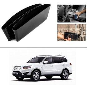 AutoStark 2 Car Seat Gap Slit Pocket Storage Catch Catcher Box Organizer Holder Box For Hyundai Santa Fe SUV