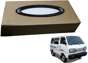 Auto Addict Car Tissue Beige Leatherite Box with 200 Sheets(100 Pulls) Vehicle Tissue Dispenser (Beige) For Maruti Suzuki Omni