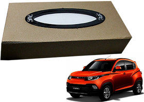 Auto Addict Car Tissue Beige Leatherite Box with 200 Sheets(100 Pulls) Vehicle Tissue Dispenser (Beige) For Mahindra KUV 100