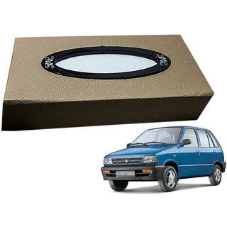Auto Addict Car Tissue Beige Leatherite Box with 200 Sheets(100 Pulls) Vehicle Tissue Dispenser (Beige) For Maruti Suzuki 800