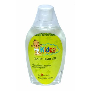 Kidco Hair and Skin Oil 200ml