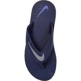 online store ad3f5 ecb62 Nike Men's Chroma Thong 5 Blue Flip Flops