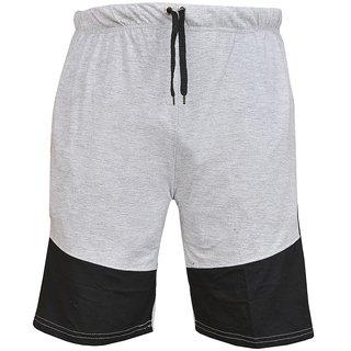 Blushh Collection Light Grey Men's Short's Pack Of 2