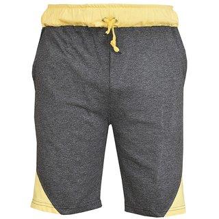 Blushh Collection Dark Grey Men's Short's Pack Of 2