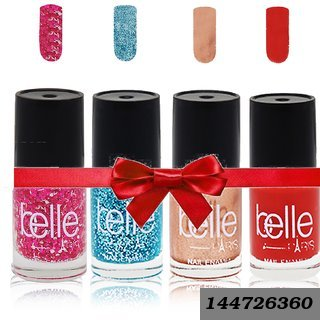Set Of 4 Nail Paints