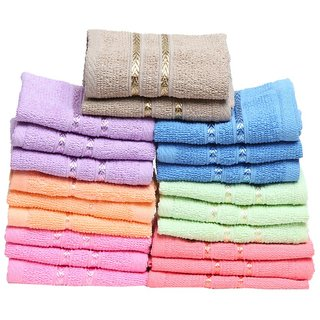 Stonic Cotton Multicolor Face Hanky - Pack Of 6)