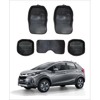 Trigcars Car Carpet Black Car Floor/Foot Mats for Honda Wrv Free Bluetooth