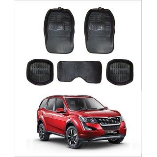 Trigcars Car Carpet Black Car Floor/Foot Mats for Mahindra Xuv 500 18  Free Bluetooth