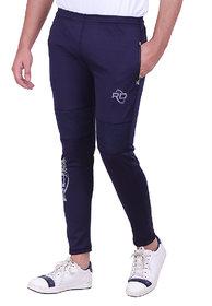 RDS Wear Solid Men's Navy Blue Track Pants