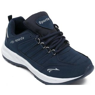 Clymb Cosco Blue Synthetic EVA Running Sports Shoes For Men