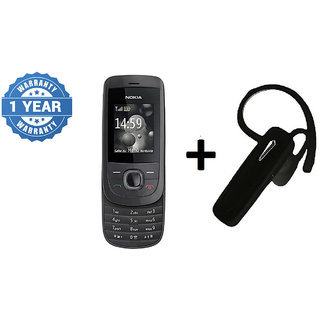 Refurbished Nokia 2220 Black and Bluetooth (1 Year WarrantyBazaar Warranty)