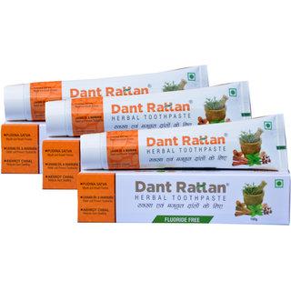 DANT RATTAN HERBAL TOOTHPASTE PACK OF 3