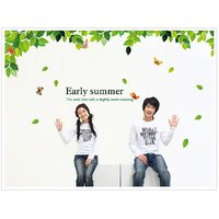 Asmi Collection PVC Wall Stickers Wall Decals Summer Tree AY901
