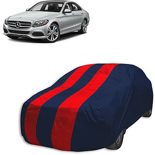 QualityBeast Extreme Car Body Cover for Mercedes Benz C200 (Red Black)