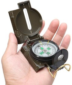 Military Magnetic Compass Metal Body  -TARGET PLUS