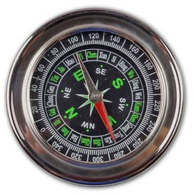 STAINLESS STEEL MAGNETIC COMPASS -TARGET PLUS
