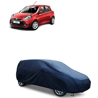QualityBeast Extreme Car Body Cover for Renault Pulse (Blue)