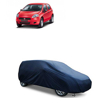 QualityBeast Extreme Car Body Cover for Fiat Punto (Blue)
