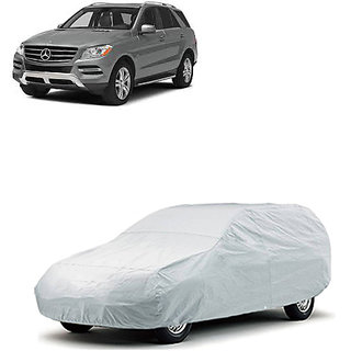 QualityBeast Extreme Car Body Cover for Mercedes Benz M-Class (Silver)