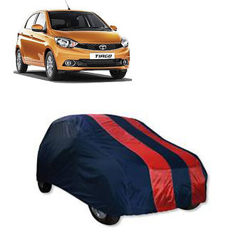 QualityBeast Extreme Car Body Cover for Tata Tiago (RedBlue)