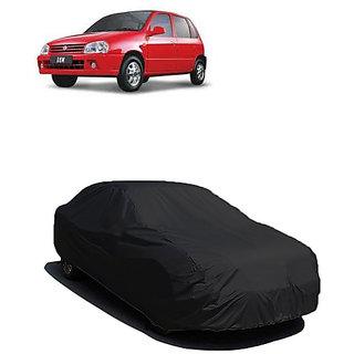 QualityBeast Extreme Car Body Cover for Maruti Zen (Black)