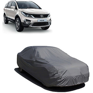 QualityBeast Extreme Car Body Cover for Tata Hexa (Grey)