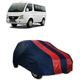 QualityBeast Extreme Car Body Cover for Tata VENTURE (RedBlue)