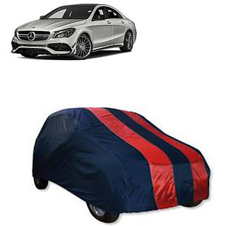 QualityBeast Extreme Car Body Cover for Mercedes Benz Cla 45 (RedBlue)