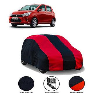 QualityBeast Extreme Car Body Cover for Maruti Suzuki Celario (MaroonBlack)
