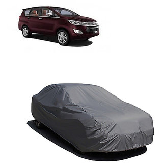 QualityBeast Extreme Car Body Cover for Toyota Innova (Grey)