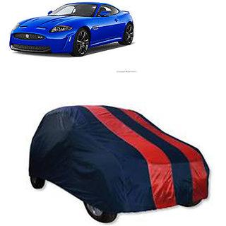 QualityBeast Extreme Car Body Cover for Jaguar XK (RedBlue)