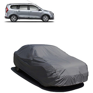 QualityBeast Extreme Car Body Cover for Renault Lodgy (Grey)