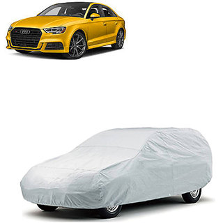 QualityBeast Extreme Car Body Cover for Audi S3 (Silver)