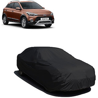 QualityBeast Extreme Car Body Cover for Hyundai I20 Active (Black)