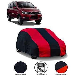 QualityBeast Extreme Car Body Cover for Mahindra Xylo 8 Seater (MaroonBlack)