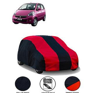 QualityBeast Extreme Car Body Cover for Maruti Zen Estilo Type 1 (MaroonBlack)