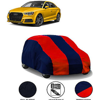 QualityBeast Extreme Car Body Cover for Audi S3 (MaroonBlue)