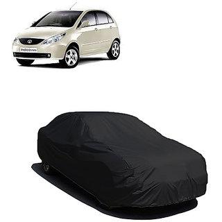 QualityBeast Extreme Car Body Cover for Tata Indica Vista (Black)