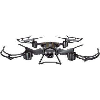 DY XS' Wing Foldable  Portable Drone Quadcopter (Black)