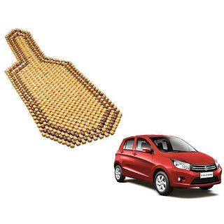 Auto Addict Car Wooden Bead Seat Cover Acupressure Design Set Of 1 Pcs For Maruti Suzuki Celerio