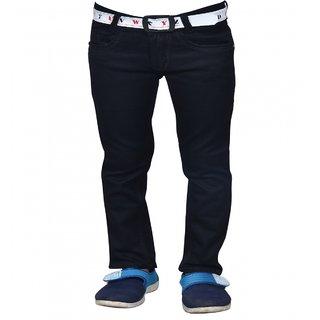 Aric Regular fit Kids Black jeans