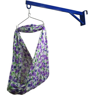 Baby Window Cradle Stand Heavy Metal Hanger(Color May Vary)