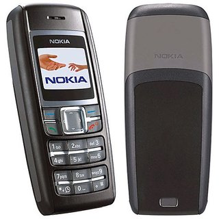 Refurbished Nokia 1600 Black (1 Year Warranty Bazaar Warranty)