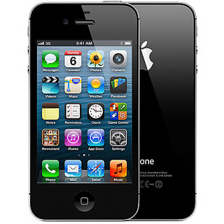 Apple Iphone 4s 16 GB Black ( Imported )