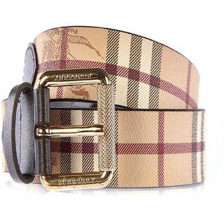 Luxury Designer Store Leather Multicolor Belt For Mens
