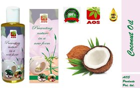 AOS Products 100 Pure Coconut Oil, (50 ml)