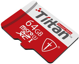 Tiitan 64 GB MicroSDHC Card Class U3/ Speed up-to 300 MB/s