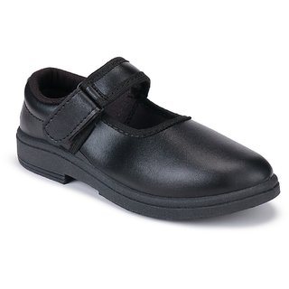 Super kids (girls) 1202 black school shoes