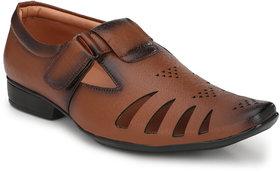 Lee Peeter Men's Tan Roman Sandals